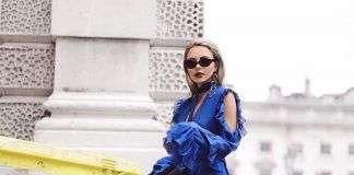 С чем носить ботфорты? Примеры на модных блогерах