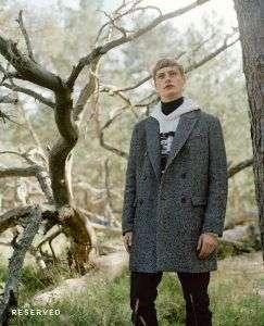 Модное мужское пальтоReserved-осень