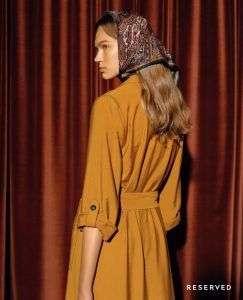 Женское пальто Reserved-осень также играют важную роль