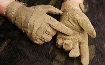 Военные тактические перчатки - надежная защита рук
