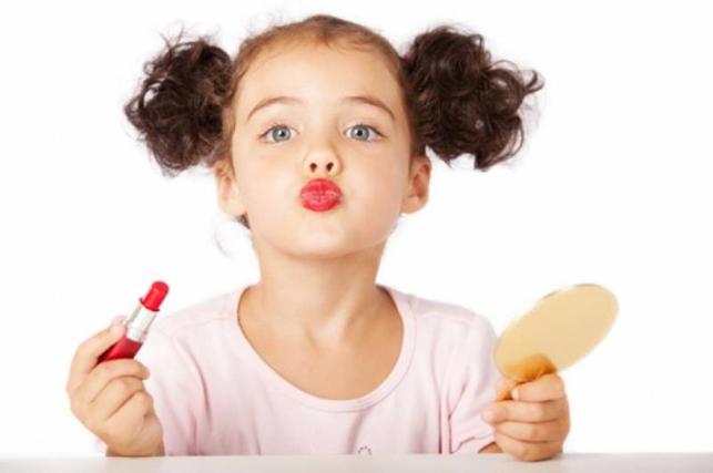 Как сделать красивый, легкий макияж ребенку